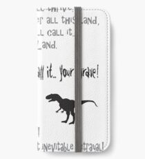 curse your sudden but inevitable betrayal, firefly, grey iPhone Wallet/Case/Skin