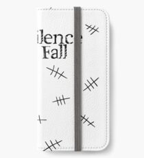 Signs of the silence iPhone Wallet/Case/Skin