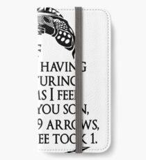 Arrowborn iPhone Wallet/Case/Skin