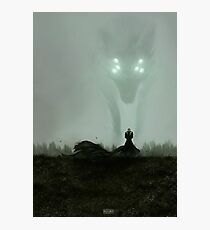 He who hunts alone Photographic Print