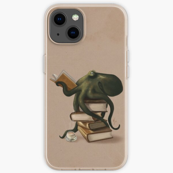 Well-Read Octopus iPhone Soft Case