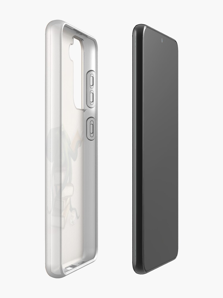 Alternate view of Well-Read Octopus Case & Skin for Samsung Galaxy