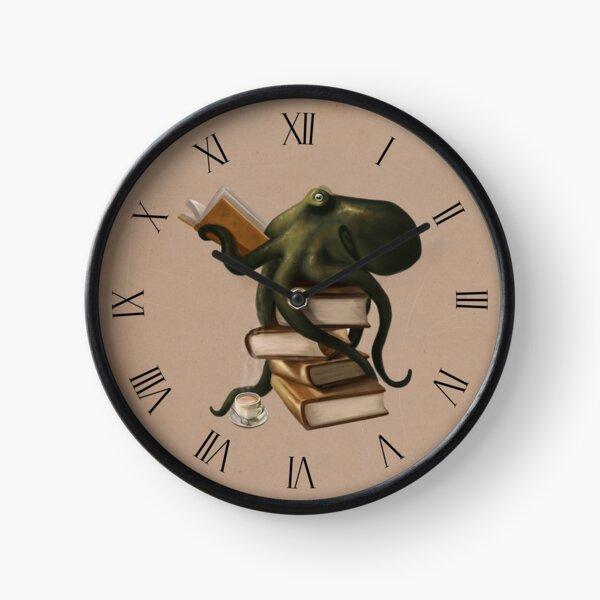 Well-Read Octopus Clock