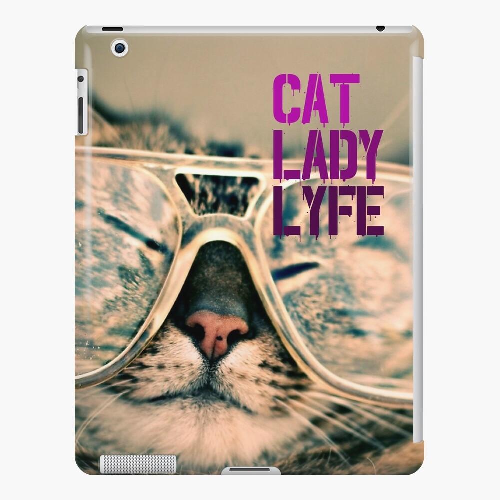Living That Cat Lady Lyfe iPad Case & Skin