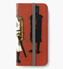 Chevalier noir iPhone Wallet/Case/Skin