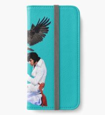 Elvis Hunts with an Eagle iPhone Wallet/Case/Skin