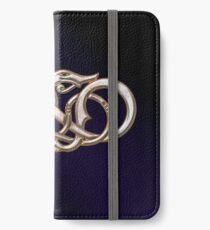 Viking Dragon in metal iPhone Wallet/Case/Skin