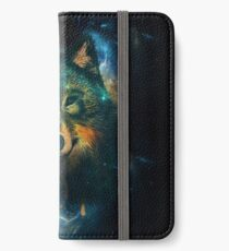Vinilo o funda para iPhone Galaxy Wolf