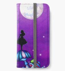 Alice in Wonderland and Caterpillar iPhone Wallet/Case/Skin