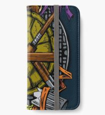 Turtle Family Crest - Full Color iPhone Wallet/Case/Skin