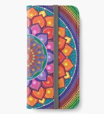 Lotus Rainbow Mandala iPhone Wallet/Case/Skin