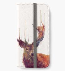 Red Deer iPhone Wallet/Case/Skin