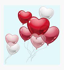 Love Balloon Photographic Print
