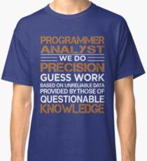 Programmer Analyst Classic T-Shirt