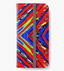 Colored X iPhone Wallet/Case/Skin