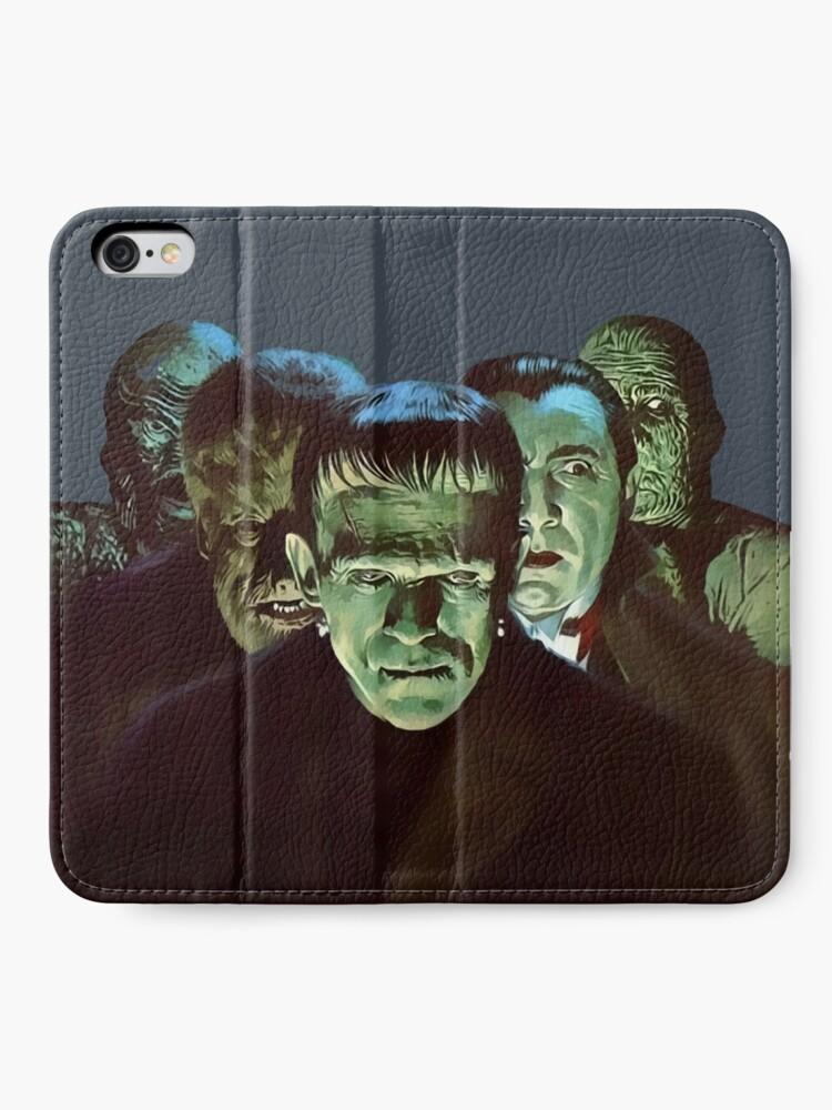 Alternate view of Gang of Monsters  iPhone Wallet