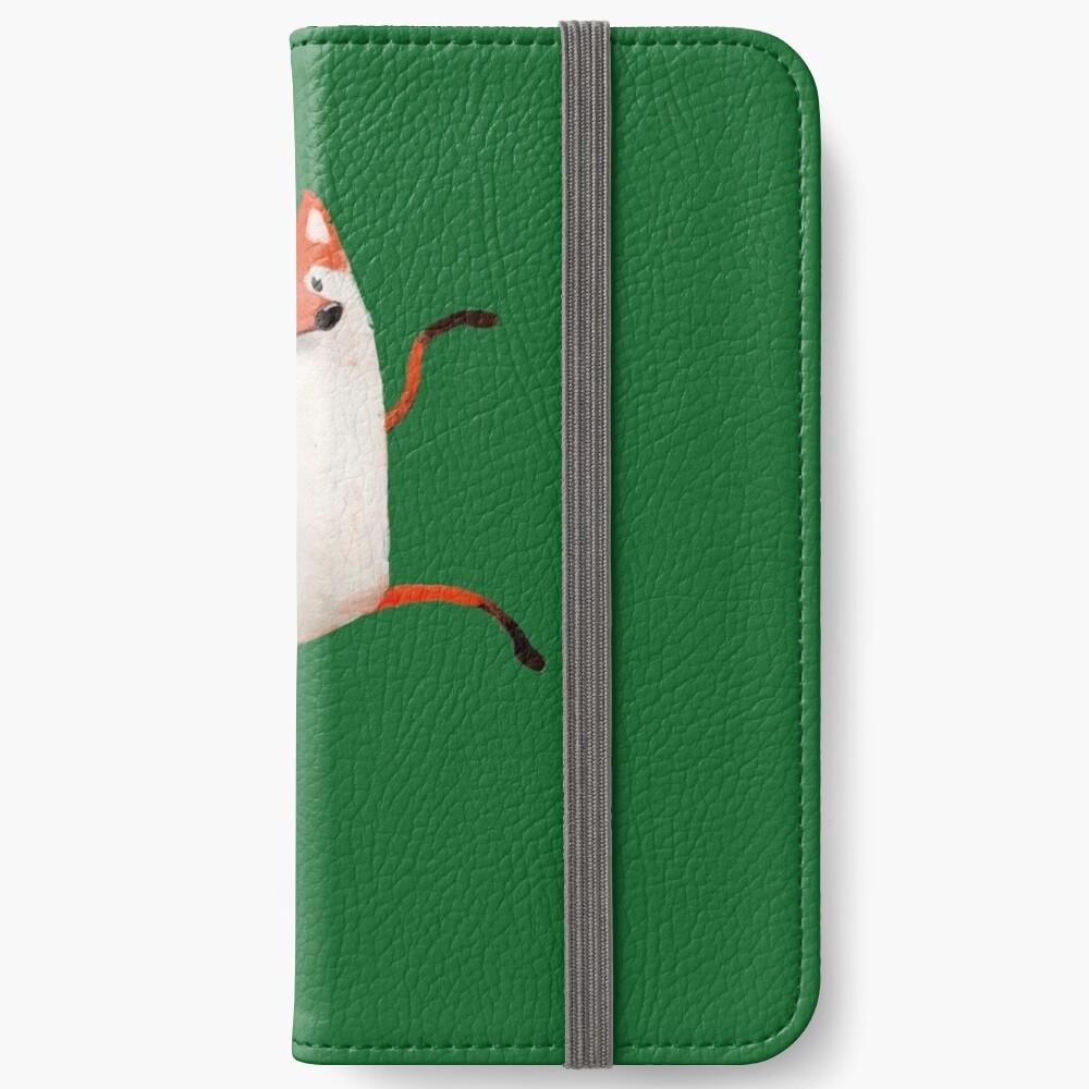 Happy Dancing Fox iPhone Wallet