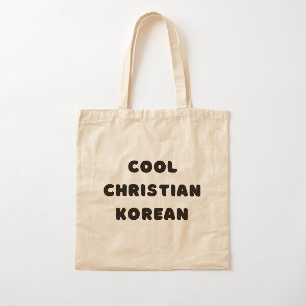 Cool, Christian and Korean - Kims Convenience Cotton Tote Bag
