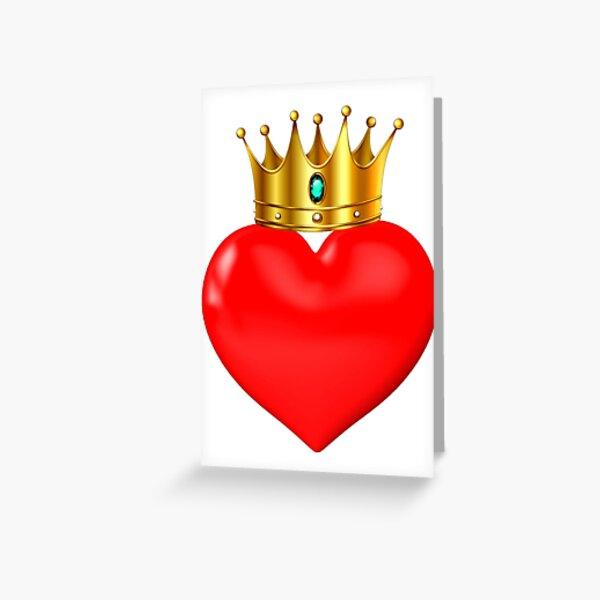 Crown love Greeting Card