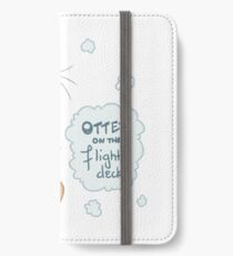 Otter on the Flight Deck iPhone Wallet/Case/Skin