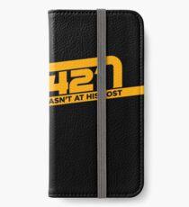 TK-421 iPhone Wallet/Case/Skin