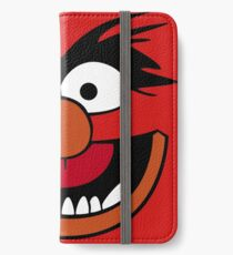 Animal Muppet (Orange Lips&Nose) iPhone Wallet/Case/Skin