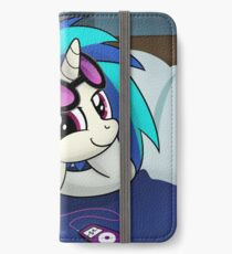 The Audiophile (Vinyl Scratch Poster) iPhone Wallet/Case/Skin