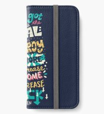 Increase Awesome, Decrease Suck iPhone Wallet/Case/Skin