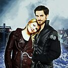 Captain Swan Comic Poster Logoless Design Version 1 by Marianne Paluso