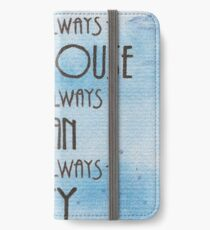 There's Always a Lighthouse iPhone Wallet/Case/Skin
