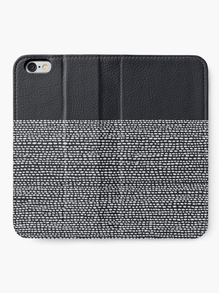 Alternate view of Riverside Black iPhone Wallet