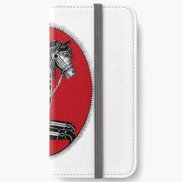 Carousel horse iPhone Wallet