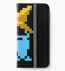 Black mage final fantasy iPhone Wallet/Case/Skin