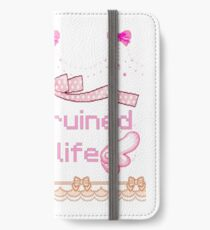 anime ruined my life iPhone Wallet/Case/Skin