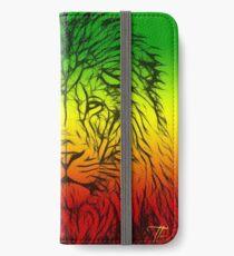 Rasta Lion numero tres iPhone Wallet/Case/Skin