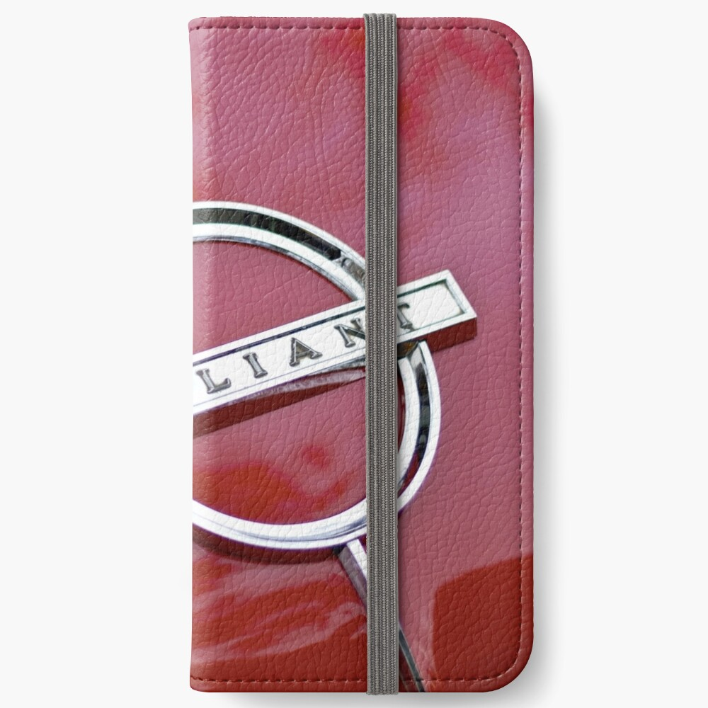 Red Valiant iPhone Wallet