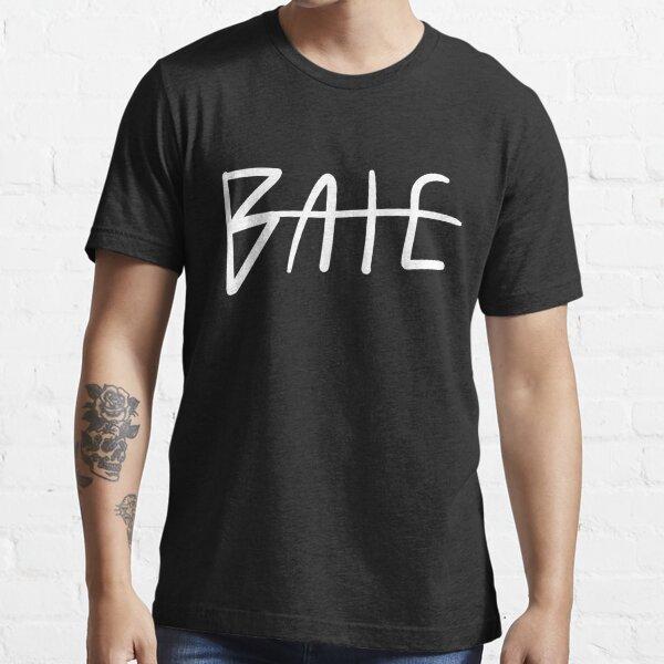 Bate Classic Logo White Essential T-Shirt