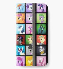 Pony Blocks iPhone Wallet/Case/Skin