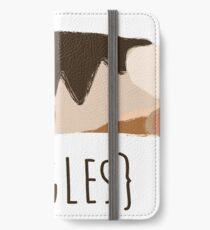 Beagles iPhone Flip-Case/Hülle/Klebefolie
