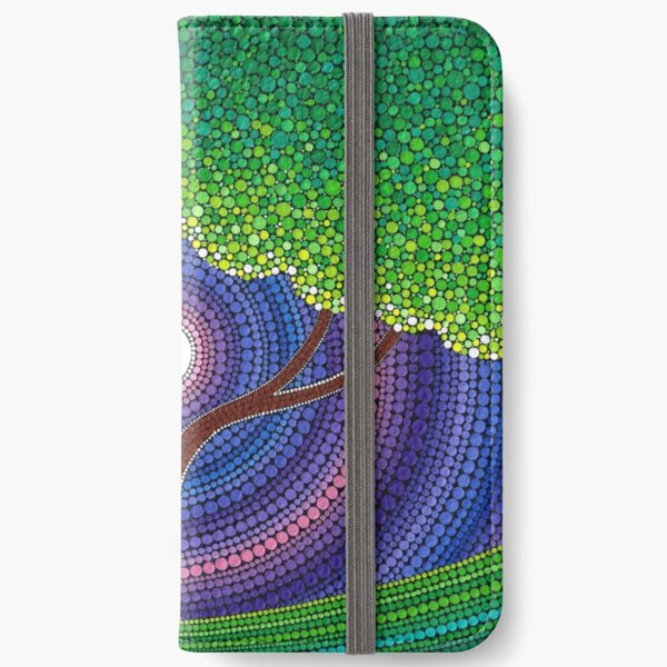 Happy Tree of Life iPhone Wallet