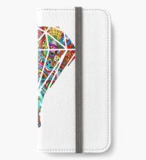 Flüssiger Diamant iPhone Flip-Case/Hülle/Skin