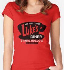 Luke's Diner Women's Fitted Scoop T-Shirt