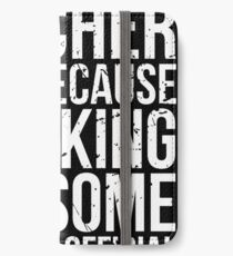 English Teacher, Only Because Freaking Awesome Is Not An Official Job Title iPhone Wallet/Case/Skin