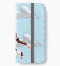Jordan Polygon Art iPhone Flip-Case/Hülle/Klebefolie