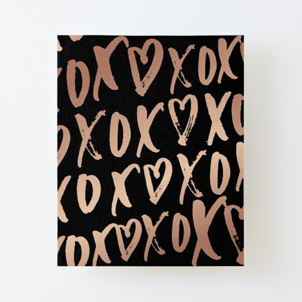 0/395 Hearts and Kisses Canvas Mounted Print