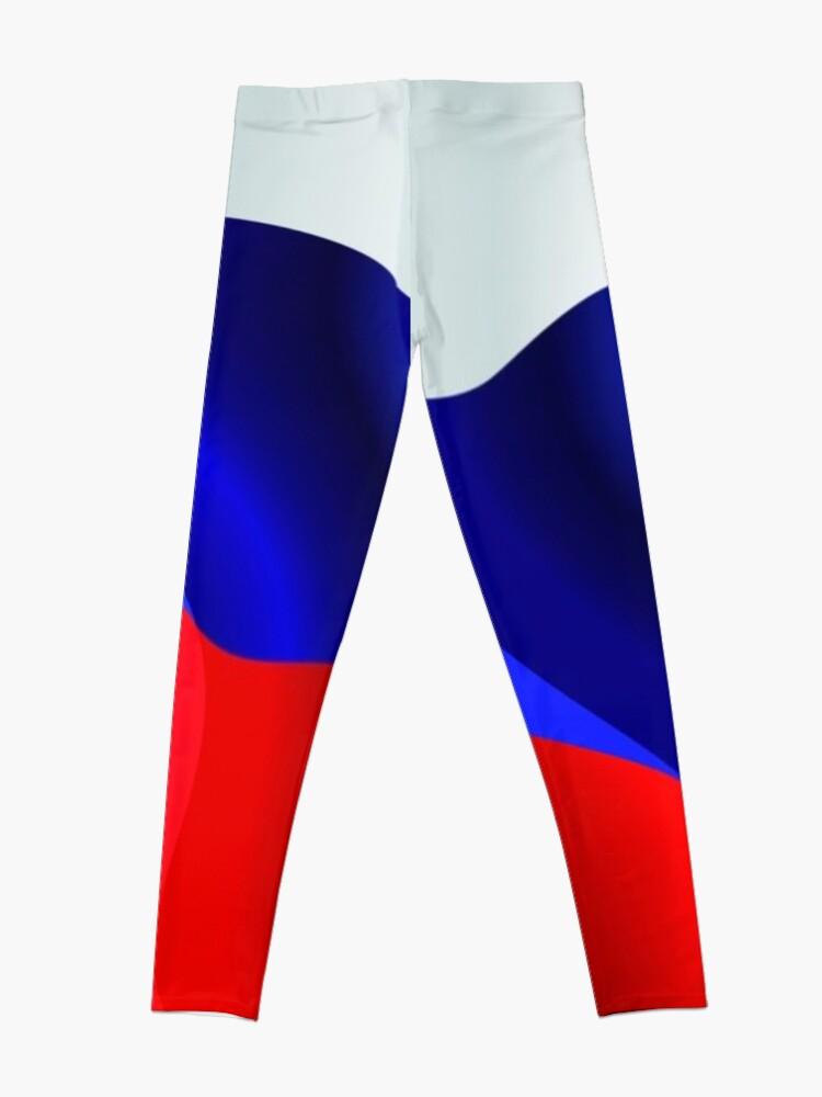 Alternate view of #Российский #флаг, Флаг российской федерации, #Russian #Flag, Flag of the Russian Federation, Russia, Russian, flag, Russian Federation Leggings