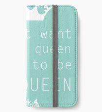 The Queen iPhone Wallet/Case/Skin