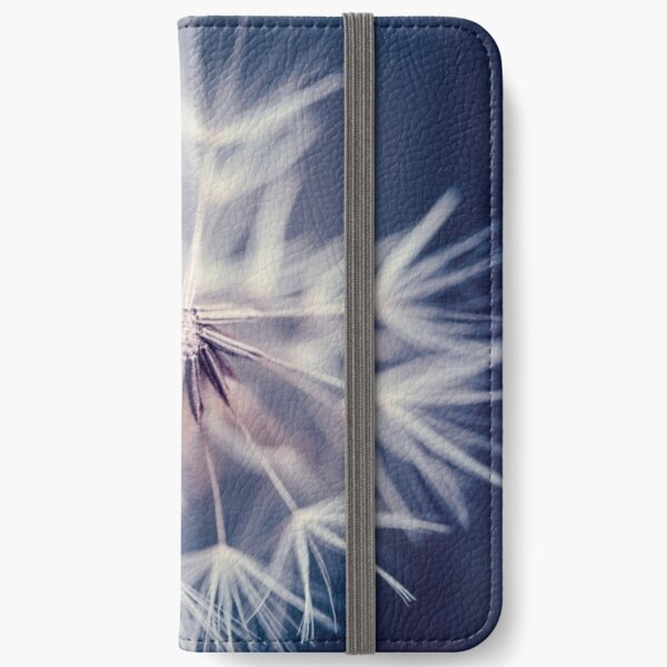 Dandelion Blue iPhone Wallet