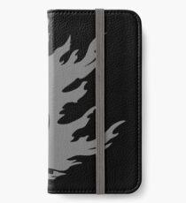 Gray Smash Ball iPhone Wallet/Case/Skin