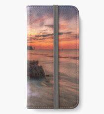 Rocky Beach Sunset iPhone Wallet/Case/Skin